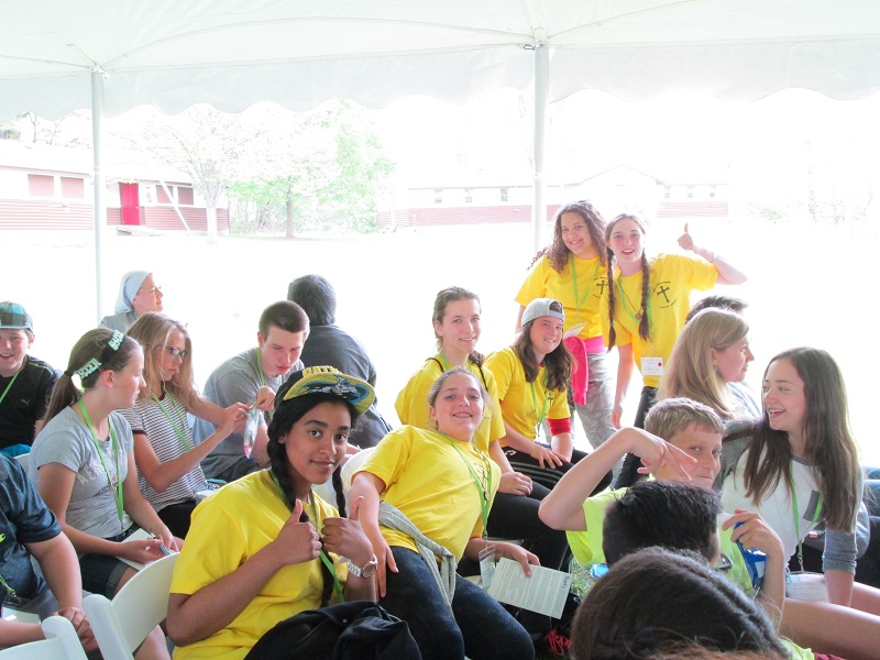 Diocese Year of Mercy Youth Rally
