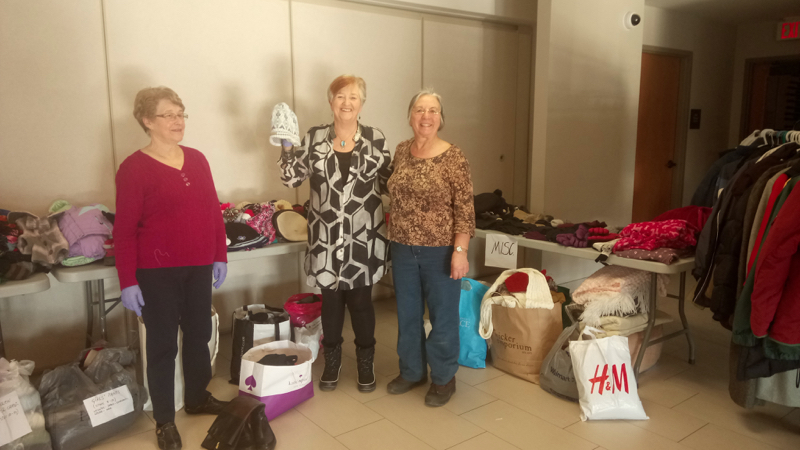 Health and Wellness Committee Coat & Winter Clothing Drive – January 2018